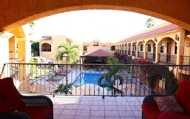 Hotel Hacienda Suites, agradable ambiente