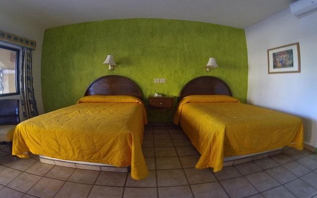 Hotel Hacienda Suites, habitaciones bien equipadas