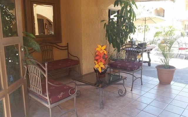 Hotel Hacienda Suites, relájate en la sala