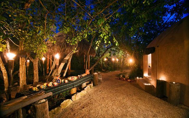 Para unas vacaciones románticas en la Riviera Maya
