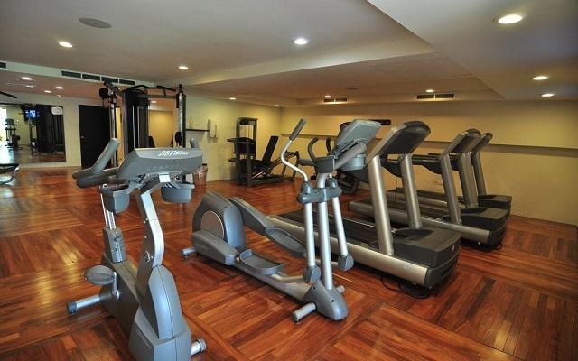 Hotel Hacienda Tres Ríos, gimnasio