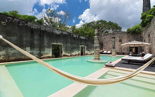 Hotel hacienda uayamon ofertas de hoteles en campeche - Piscina dentro de la habitacion ...