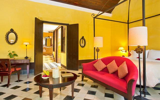 Habitaciones de lujo con un estilo colonial
