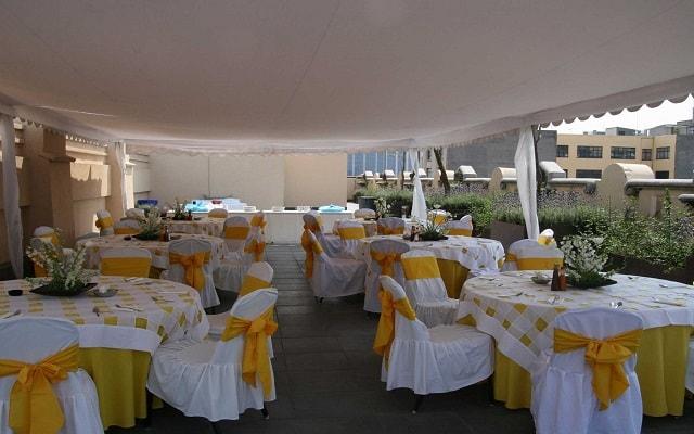 Hotel Hampton Inn and Suites Ciudad de México Centro Histórico, salón de eventos