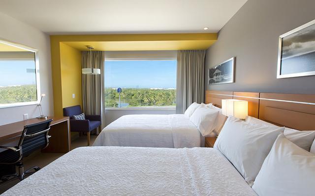 Hampton Inn and Suites Paraíso, habitaciones cómodas y acogedoras