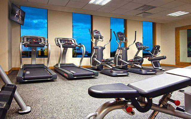 Hilton Garden Inn Monterrey Aeropuerto, gimnasio bien equipado