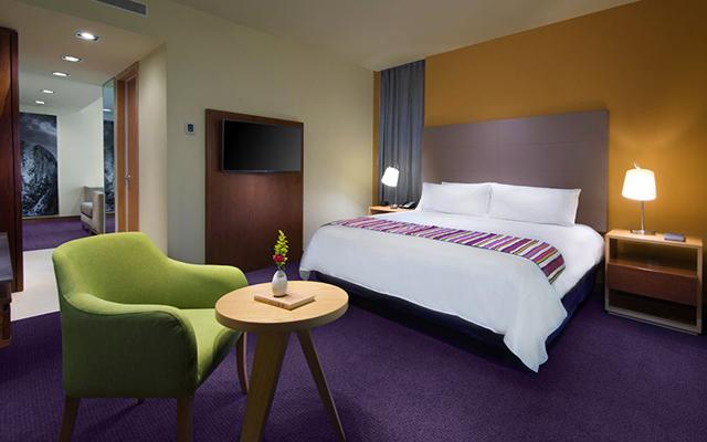 Hilton Garden Inn Monterrey Aeropuerto, habitaciones con todas las amenidades