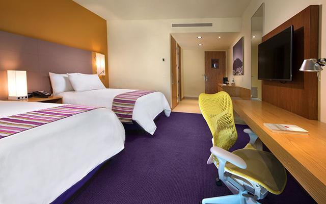 Hilton Garden Inn Monterrey Aeropuerto, habitaciones bien equipadas
