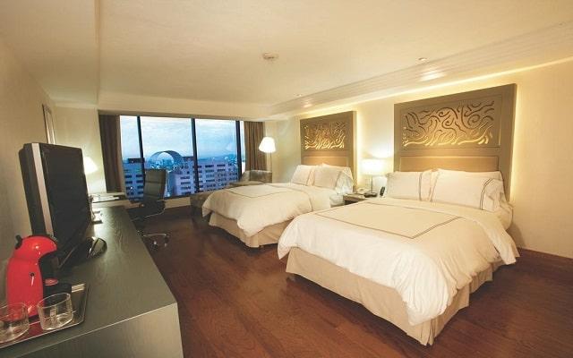 Hotel Hilton Guadalajara, acogedoras habitaciones