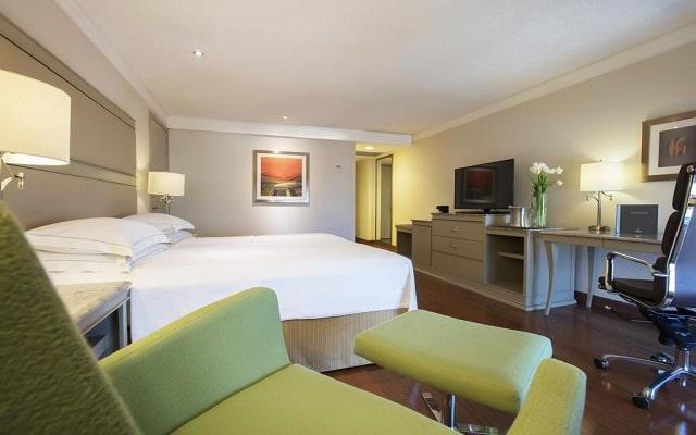 Hotel Hilton Guadalajara, habitaciones bien equipadas