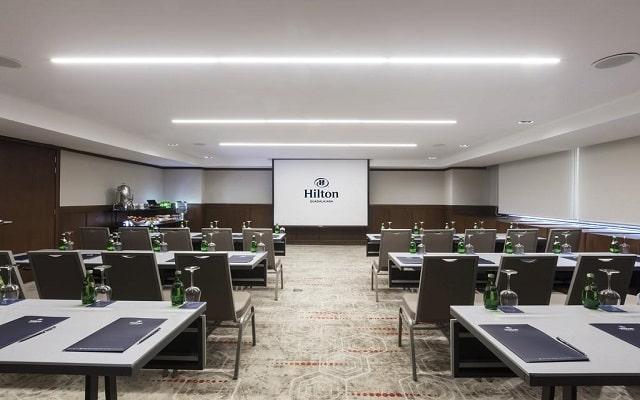 Hotel Hilton Guadalajara, salón de eventos