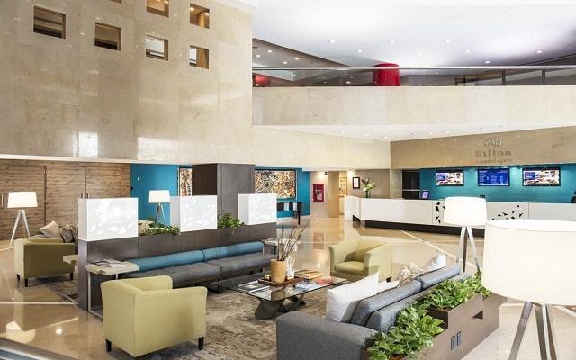 Hotel Hilton Guadalajara, lobby
