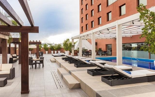 Hotel Hilton Guadalajara, amenidades en cada sitio