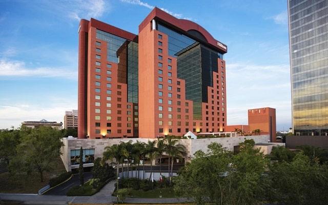 Hotel Hilton Guadalajara, buena ubicación