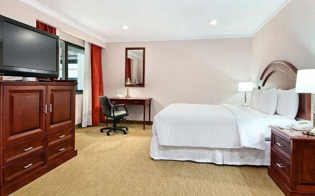Hotel Hilton Mexico City Airport, espacios diseñados para tu descanso