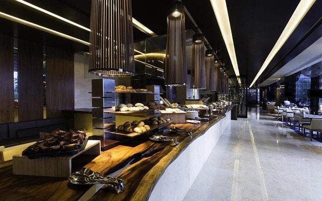 Hotel Hilton Mexico City Santa Fe, buena propuesta gastronómica