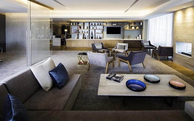 Hotel Hilton Mexico City Santa Fe, espacios de diseño