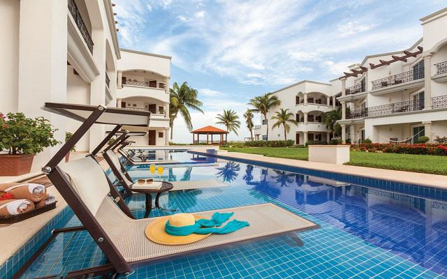 Hotel Hilton Playa del Carmen, an All-inclusive Resort, habitaciones con acceso a la alberca