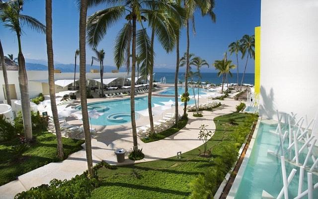 Hotel Hilton Puerto Vallarta Resort All Inclusive, escenarios increíbles