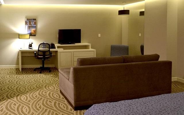 Hotel Holiday Inn Express Pachuca, habitaciones bien equipadas
