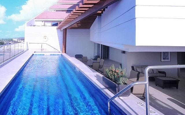 Hotel Holiday Inn Express Puerto Vallarta, terraza