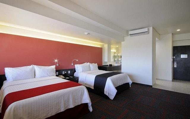 Hotel Holiday Inn México Dalí Aeropuerto, amplias y luminosas habitaciones