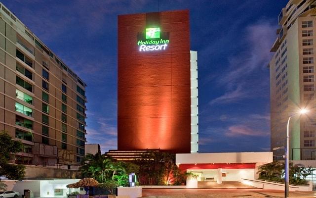 Hotel Holiday Inn Resort Acapulco, buena ubicación