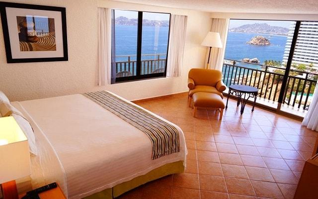 Hotel Holiday Inn Resort Acapulco, vistas hermosas desde tu habitación