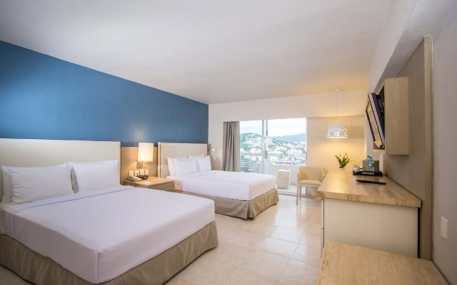 Hotel HS HOTSSON Smart Acapulco, acogedoras habitaciones