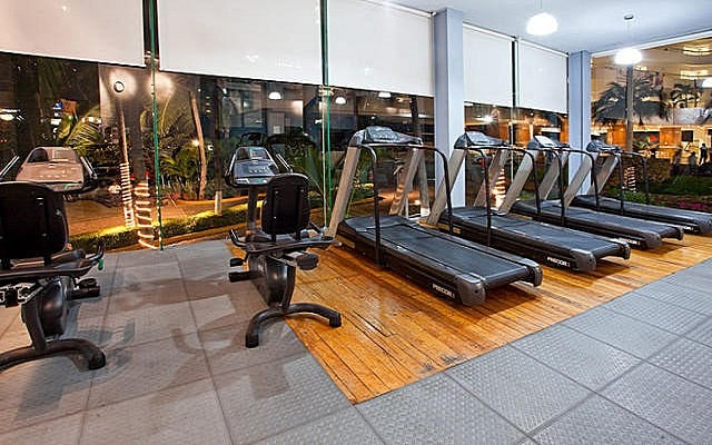 Hotel HS HOTSSON Smart Acapulco, gimnasio equipado