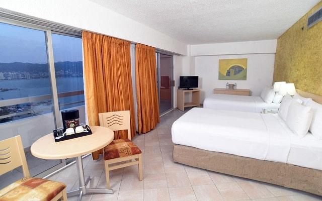 Hotel HS HOTSSON Smart Acapulco, habitaciones bien equipadas