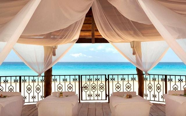 Hotel Hyatt Zilara Cancún, permite que te consientan con un masaje