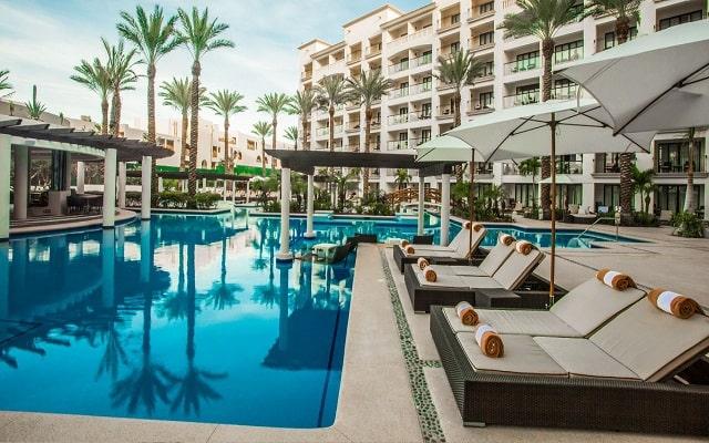 Hotel Hyatt Ziva Los Cabos All Inclusive Experience, disfruta de su alberca al aire libre