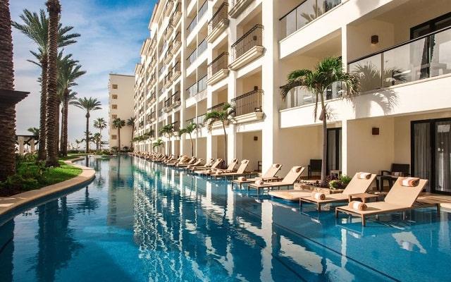 Hotel Hyatt Ziva Los Cabos All Inclusive Experience, habitaciones con acceso a la alberca