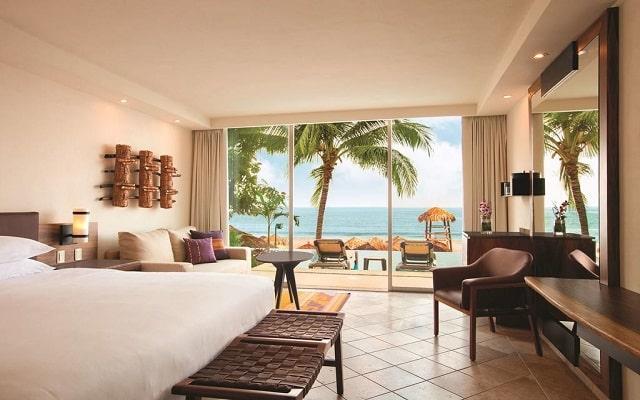 Hotel Hyatt Ziva Puerto Vallarta All Inclusive Resort, habitaciones con acceso a la alberca