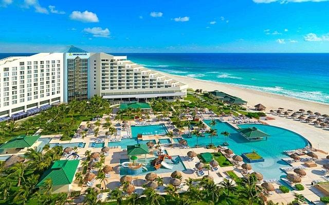 Hotel Iberostar Cancún, vista aérea