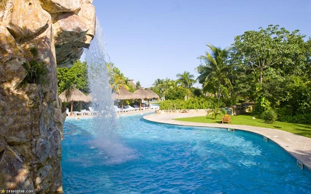 Hotel Iberostar Paraíso Beach, cascada
