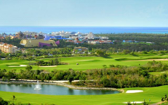 Hotel Iberostar Paraíso Lindo, campo de golf