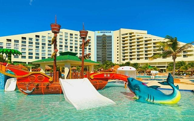 Hotel Iberostar Selection Cancún, parque acuático