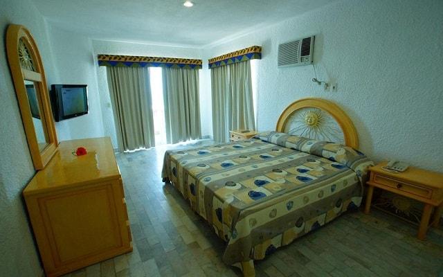 Hotel Imperial Las Perlas, habitaciones con todas las amenidades