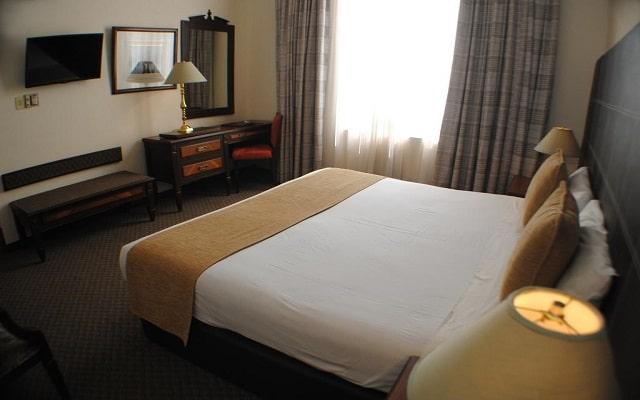 Hotel Imperial Reforma, habitaciones bien equipadas