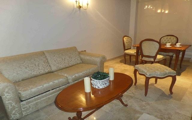 Hotel Imperial Veracruz, bonita sala