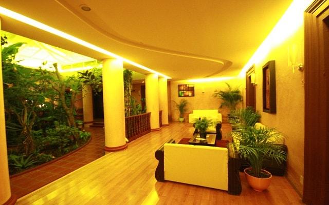 Hotel Jardines del Centro, área de descanso