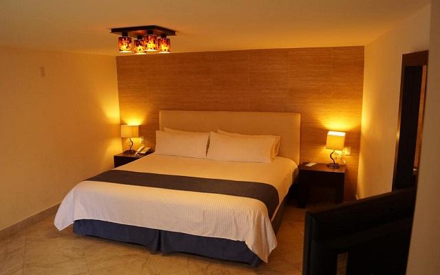 Hotel Jardines del Centro, amplias y luminosas habitaciones