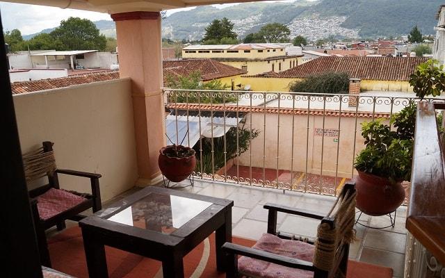 Hotel Jardines del Centro, habitaciones con lindas vistas de la ciudad