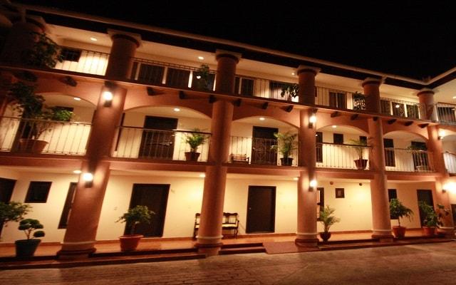 Hotel Jardines del Centro, buena ubicación