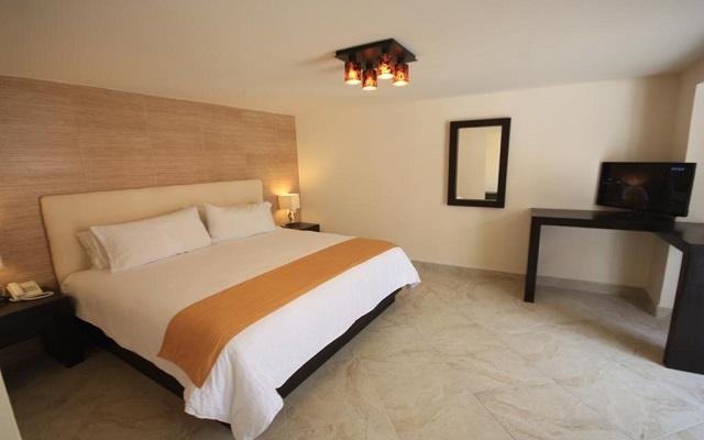 Hotel Jardines del Centro, habitaciones amplias y confortables