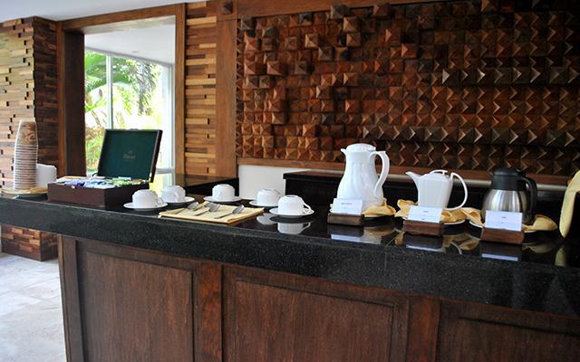 Hotel Kore Tulum Retreat and Spa Resort, servicio de café cada mañana