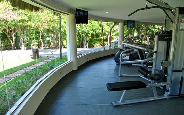 Hotel Kore Tulum Retreat and Spa Resort, gimnasio de uso exclusivo