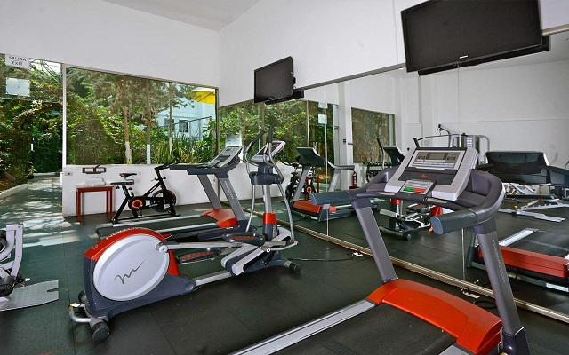 Hotel Krystal Pachuca, gimnasio equipado
